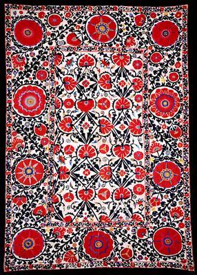 Suzani bukhara rug
