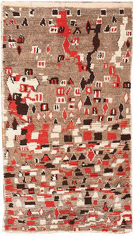 Vintage Moroccan Carpet Nazmiyal