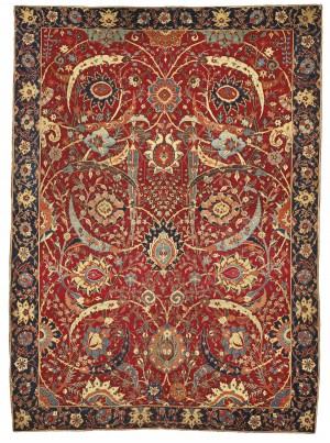 17th century most expensive Persian Carpet