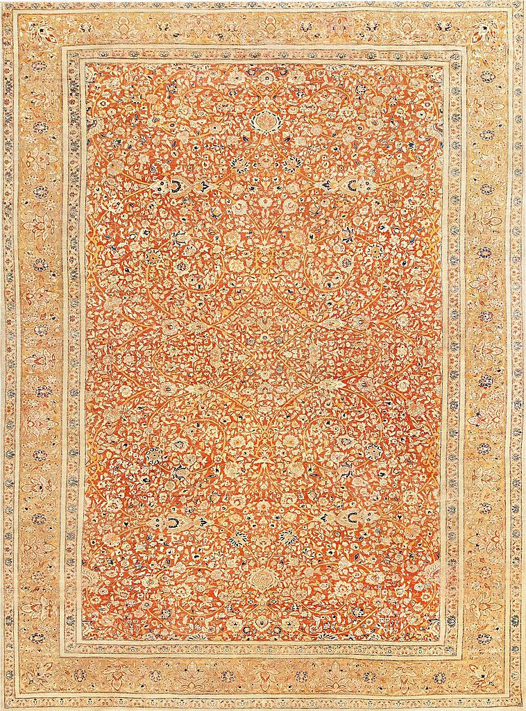 Antique Persian Tabriz Haji Jalili by Nazmiyal