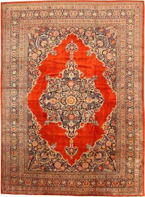 Antique Tabriz Silk Persian Rug by Nazmiyal
