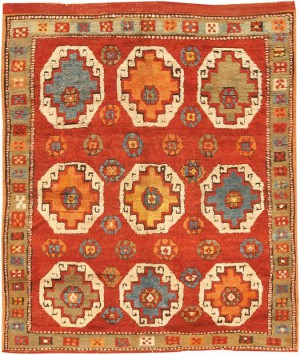 Antique Konya Tribal rug
