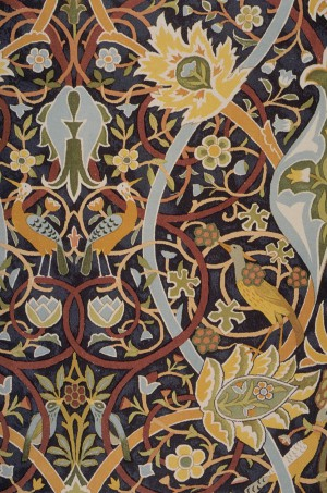 Morris Bullerswood Floral Carpet Drawing 1889