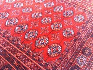 Turkmenistan tekke bokhara rug