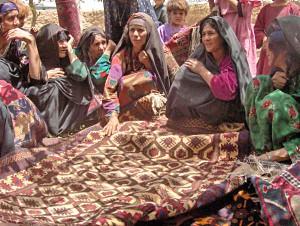 Afghan Rug Weavers