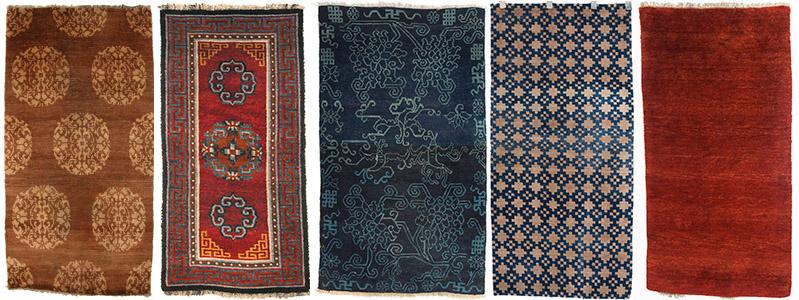 19th Century Tibetan Rugs
