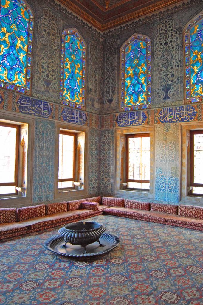 Turkish Rug in the Topkapi Palace