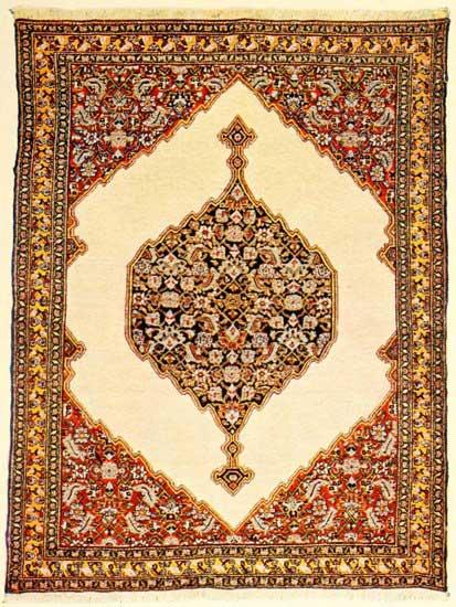 ANTIQUE SEHNA Persian Rug