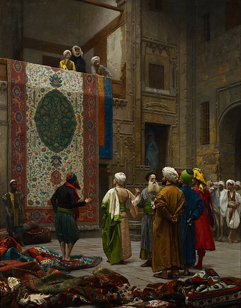 Jean-Léon Gérôme - The Carpet Merchant